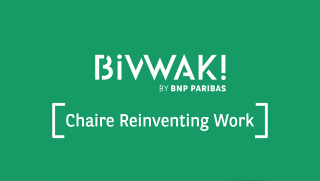 Chaire Reinventing Work