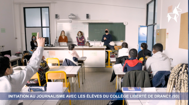 Le journalisme enseigné au collège